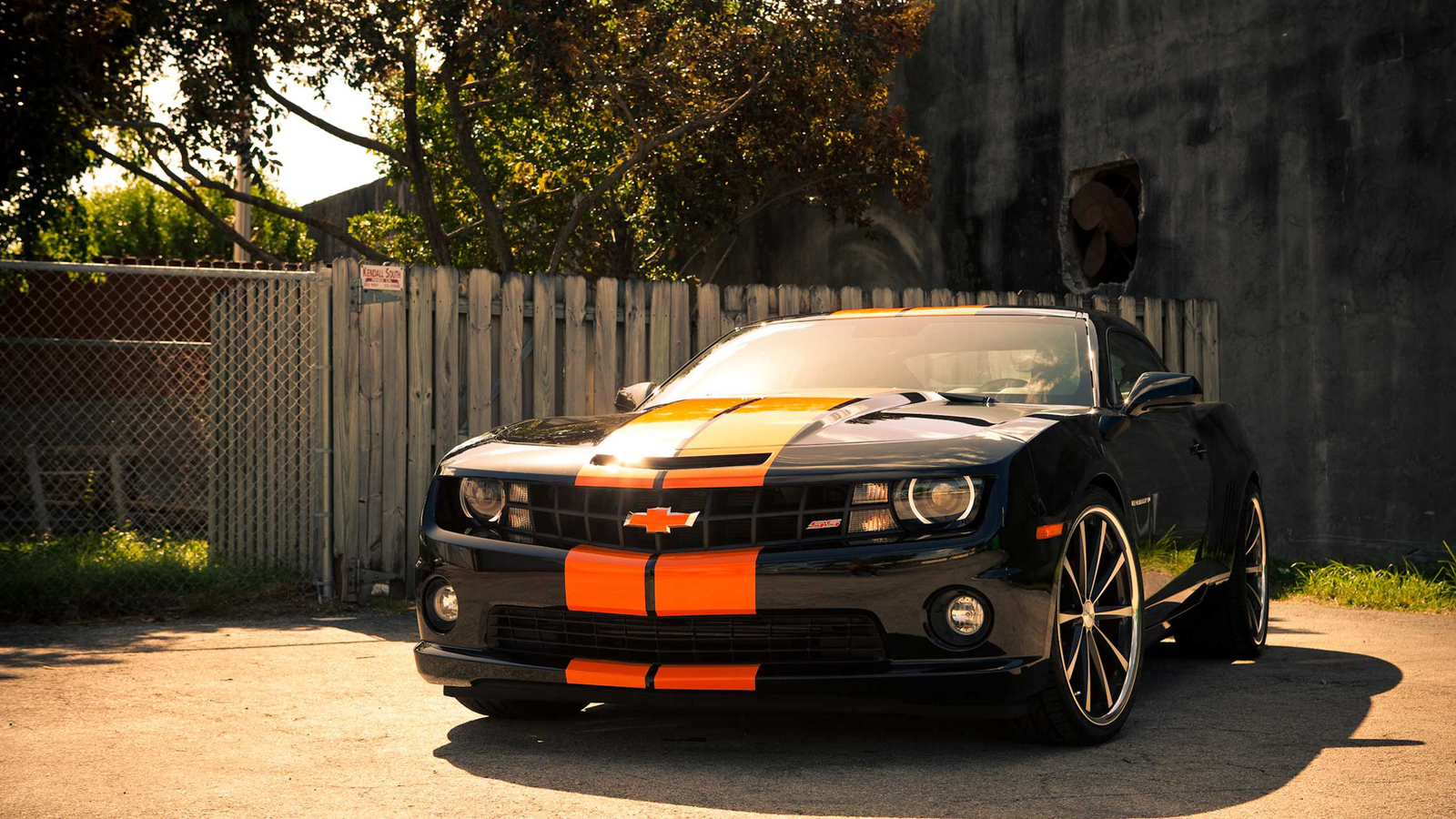 Chevrolet camaro обои 1600х900 картинки фото на