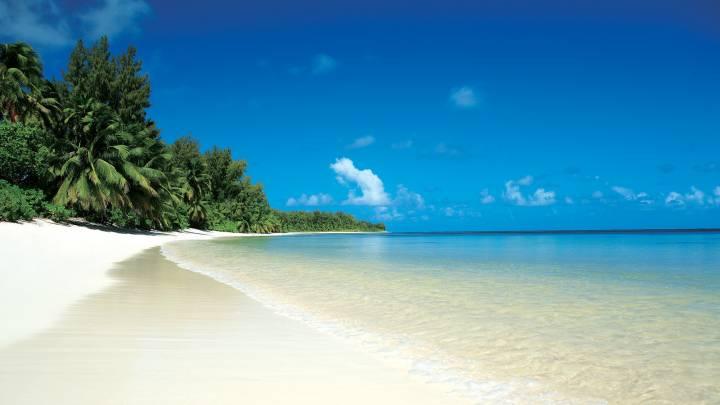 Обои картинки фото ропики море пляж